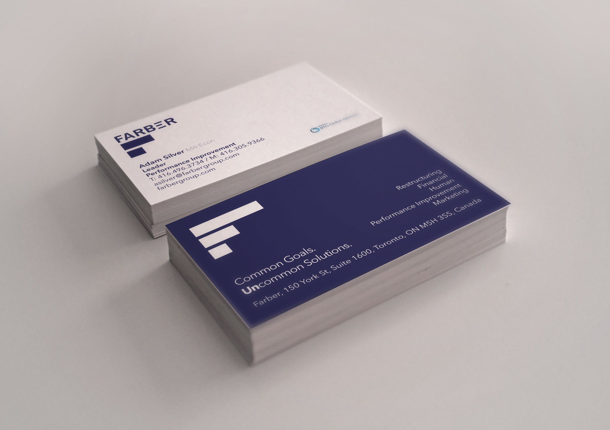Farber Financial Business Cards